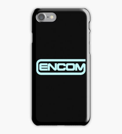 Tron ENCOM corporation logo iPhone Case/Skin