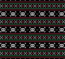 Skulls Christmas Sweater by machmigo