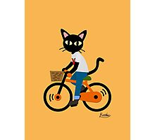 Summer cycling Photographic Print
