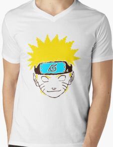 Keinage - Les Couleur | Naruto Mens V-Neck T-Shirt