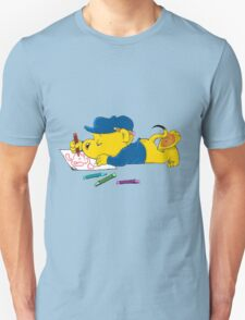 Ferald Drawing By The Waterfall Unisex T-Shirt