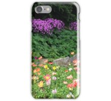 Purple flowers in San Francisco iPhone Case/Skin