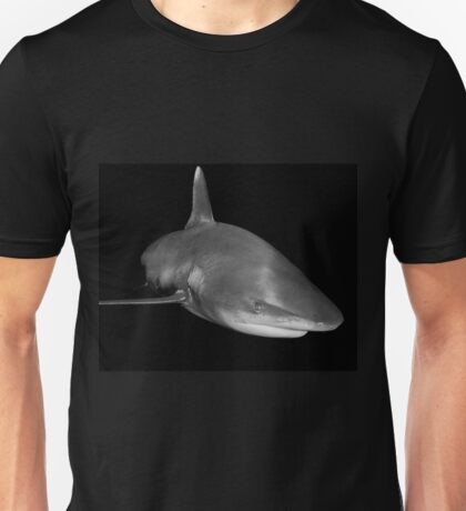 The Sly Grin of An Oceanic White Tip Shark Unisex T-Shirt