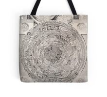 vintage Moon map Tote Bag
