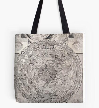 vintage Moon map Tote Bag
