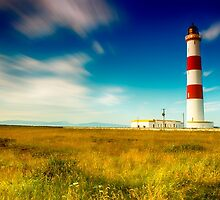 Tarbatness Lighthouse, scotland by kjdesigns
