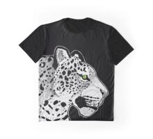 Leopard Sketch Graphic T-Shirt
