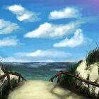 The Beach by Richard Eijkenbroek