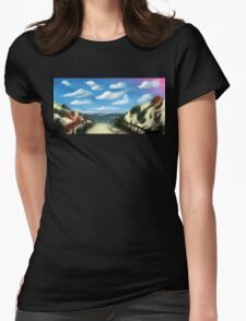 The Beach Womens Fitted T-Shirt