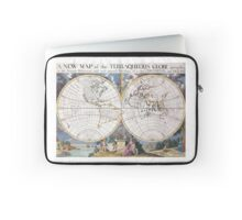 vintage Moon map Laptop Sleeve