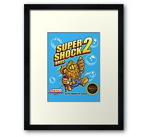 Super Shock Bros 2 Framed Print