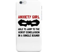 Anxiety Girl iPhone Case/Skin
