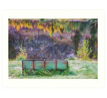 Bench For Day Dreaming Art Print
