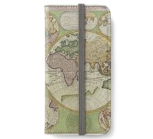 vintage Moon map iPhone Wallet/Case/Skin
