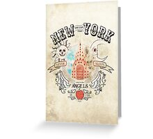 New York the city that never sleeps Greeting Card