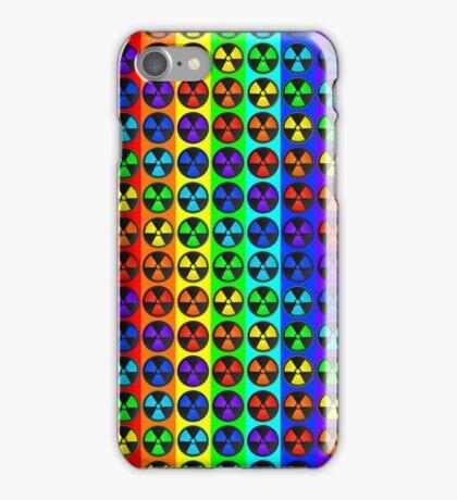 Radically Radioactive Hipster Symbol Pattern iPhone Case/Skin
