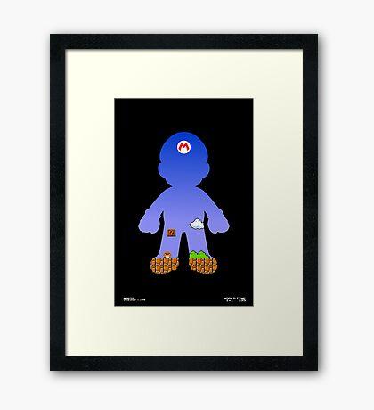 Mario Poster Framed Print