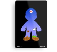 Mario Poster Metal Print