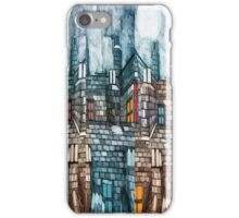 Moon over a Sleeping Town iPhone Case/Skin