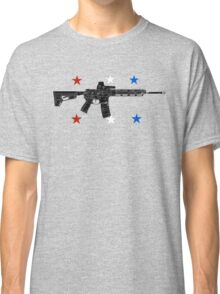Red White Blue Pew  Classic T-Shirt