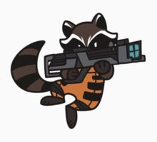 Rocket Raccoon by gabbydesigns