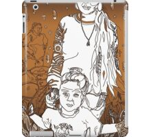 3 Generations of Tohono O'odham - A Tucson Portrait Story iPad Case/Skin