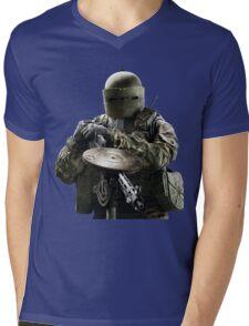 Tachanka Rainbow 6 portrait Mens V-Neck T-Shirt