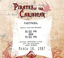 Pirates of the Caribbean- Fastpass by Margybear