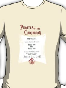 Pirates of the Caribbean- Fastpass T-Shirt