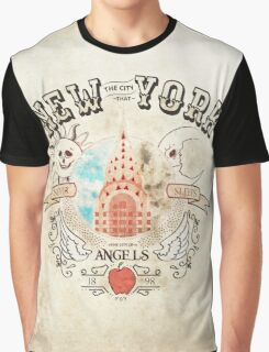 New York the city that never sleeps Graphic T-Shirt