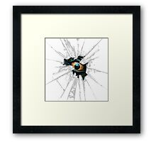 EVIL EYE Framed Print