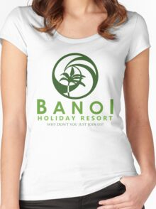 That's Your Next Holiday Sorted Then! Women's Fitted Scoop T-Shirt