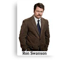 Ron Swanson Canvas Print