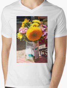 Nature's Promise Fullfilled Mens V-Neck T-Shirt