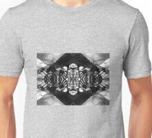 Bridge. Black and White. Symmetry Unisex T-Shirt