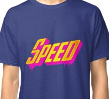 Speed 80s retro style Classic T-Shirt