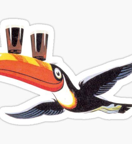 Guinness toucan Sticker
