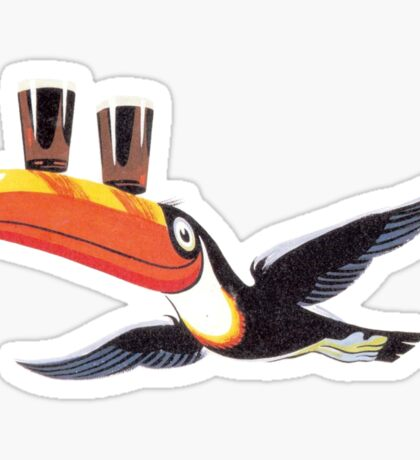 Guinness toucan Sticker
