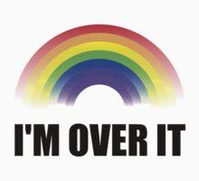 Over It Rainbow One Piece - Short Sleeve