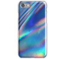 Holographic Sea in blue iPhone Case/Skin