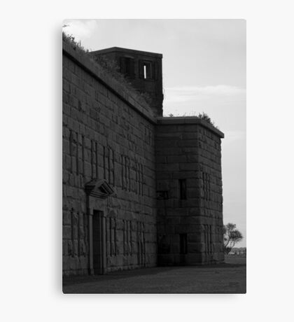 Fort Taber IV BW Canvas Print