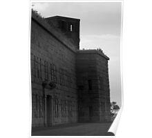 Fort Taber IV BW Poster