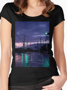Lonely Road Women's Fitted Scoop T-Shirt