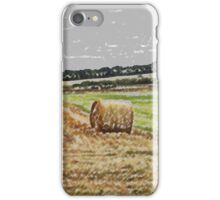 Scottish Hay Bale  iPhone Case/Skin