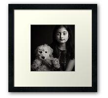 Best Friends Forever BW Framed Print