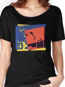 Pop Art Jazz Guitar Player Women's Relaxed Fit T-Shirt