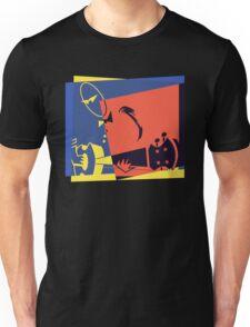 Pop Art Jazz Guitar Player Unisex T-Shirt