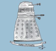 Doctor Who - Exterminate. T-Shirt
