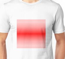 Color Gradient - Light Red | Bright Red Unisex T-Shirt