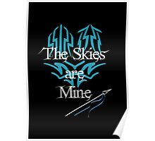 The Skies are Mine Stormblessed Kaladin Poster